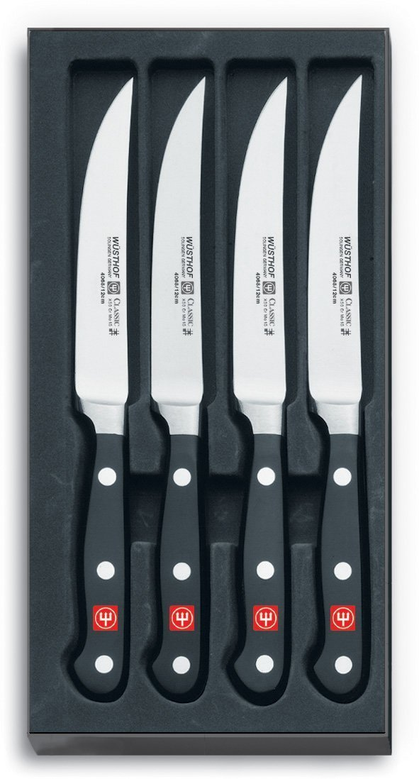 wusthof classic steak knife set best top steak knives 2013