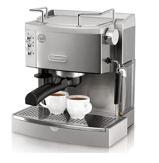 delonghi ec702 15-bar-pump espresso maker stainless coffee maker best espresso maker 2013 2014
