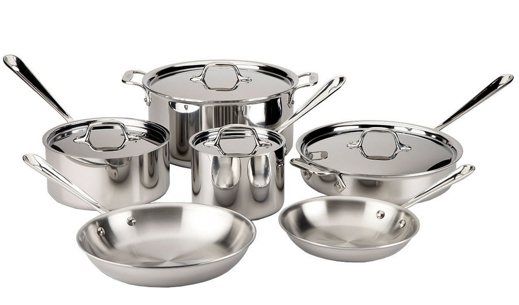 2015 All Clad Stainless Steel Cookware Sets Product