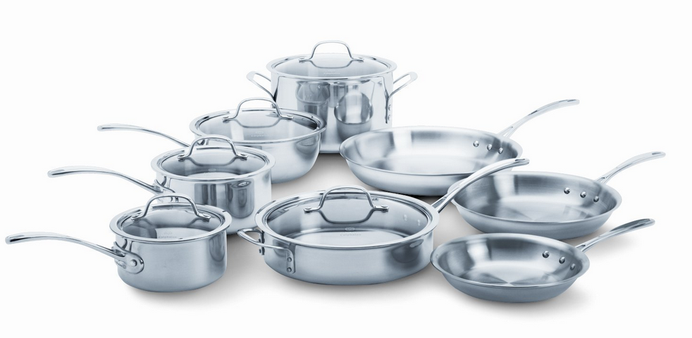 2015 Calphalon Tri Ply Stainless Steel Cookware Sets