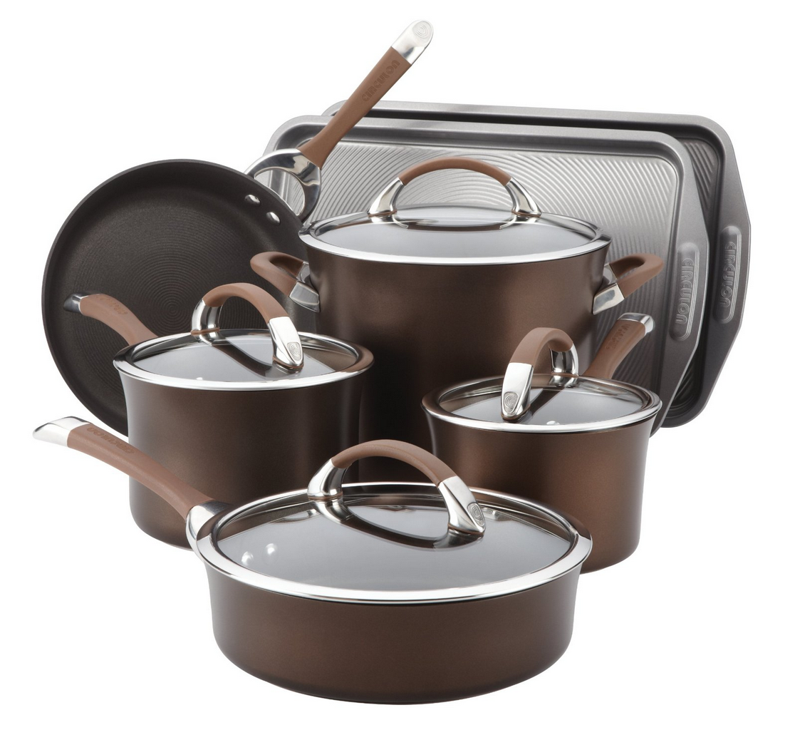 Circulon Symmetry Chocolate Hard Anodized Cookware