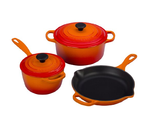 best cast iron cookware 2015 le creuset flame cookware