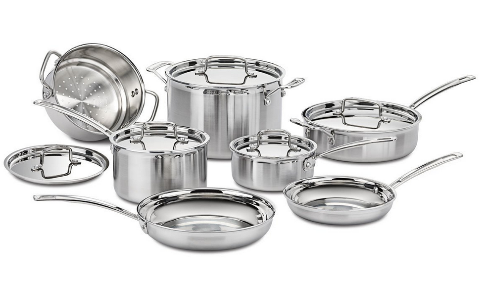 Cuisinart-Multiclad-Pro-Tri-Ply-Stainless-Steel-12-Piece-Cookware-Set