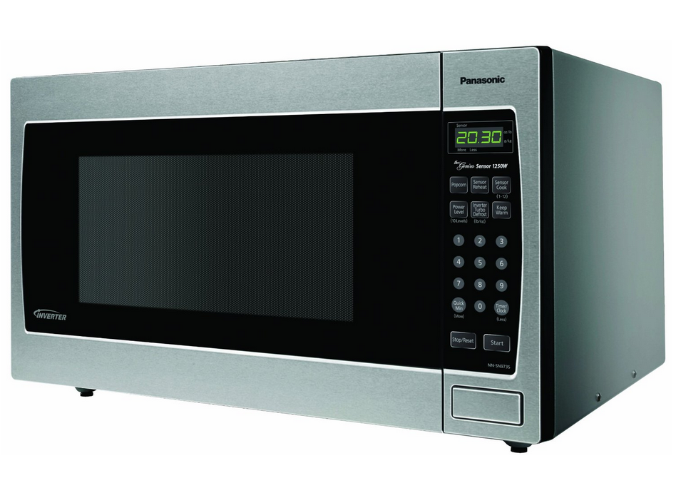 Best Countertop Convection Oven 2015 : Panasonic Genius NN-SN973S 2.2 cuft 1250 Watt Microwave with ...