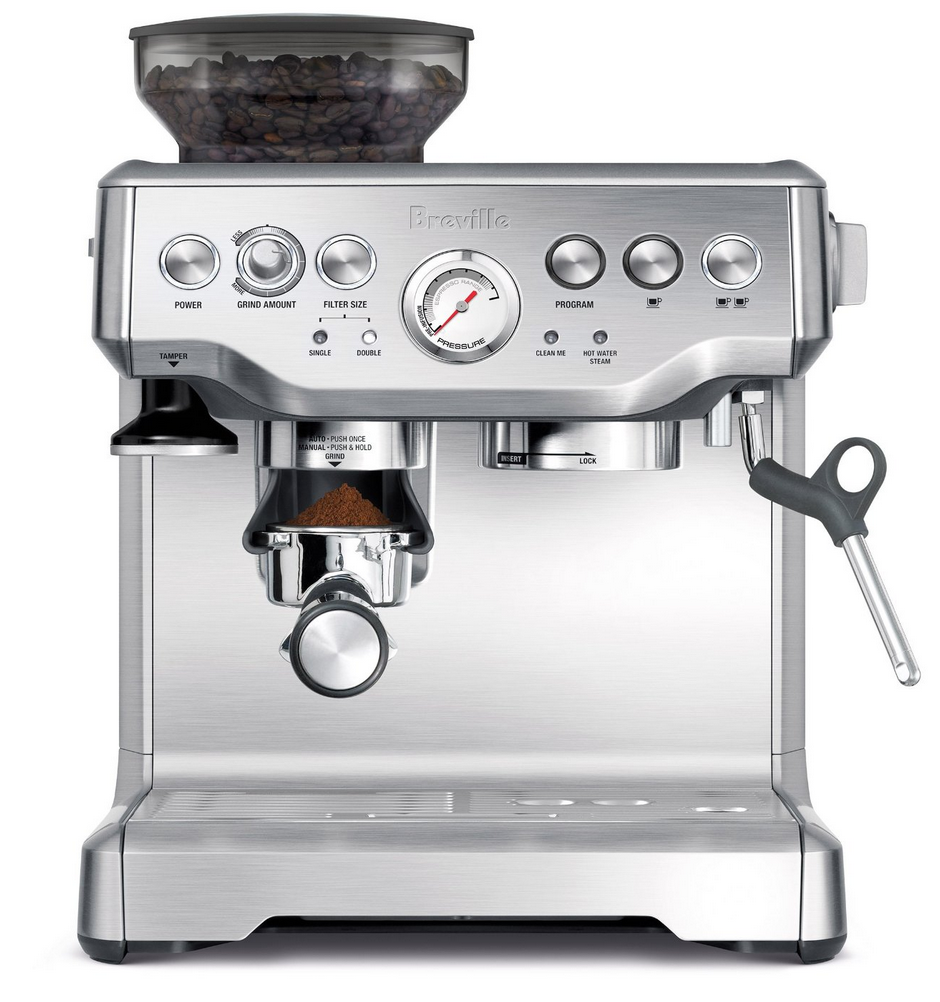 breville bes870xl espresso maker machine