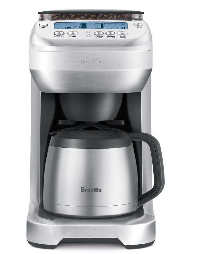 best grind and brew coffee maker with grinder 2015 breville