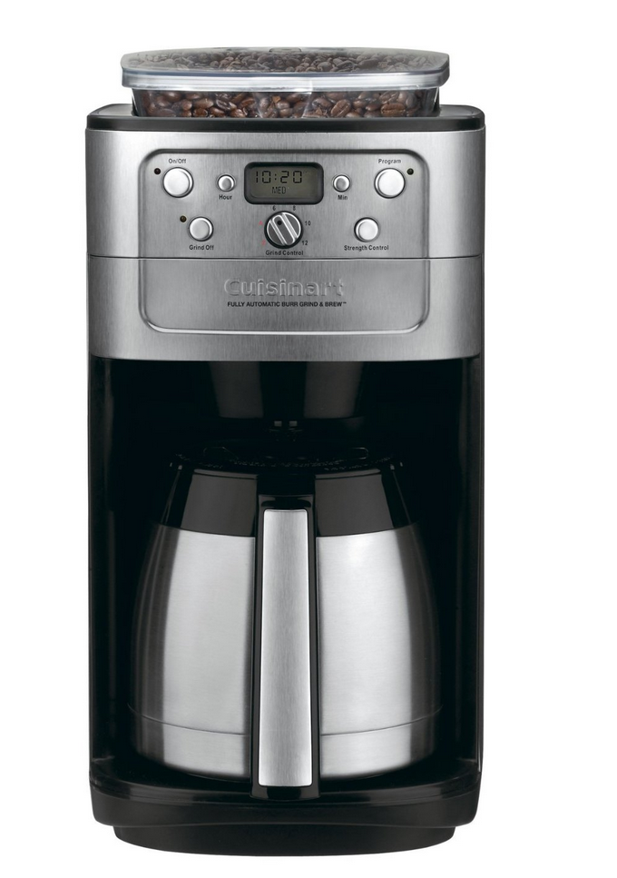 best grind and brew coffee maker with grinder 2015 cuisinart