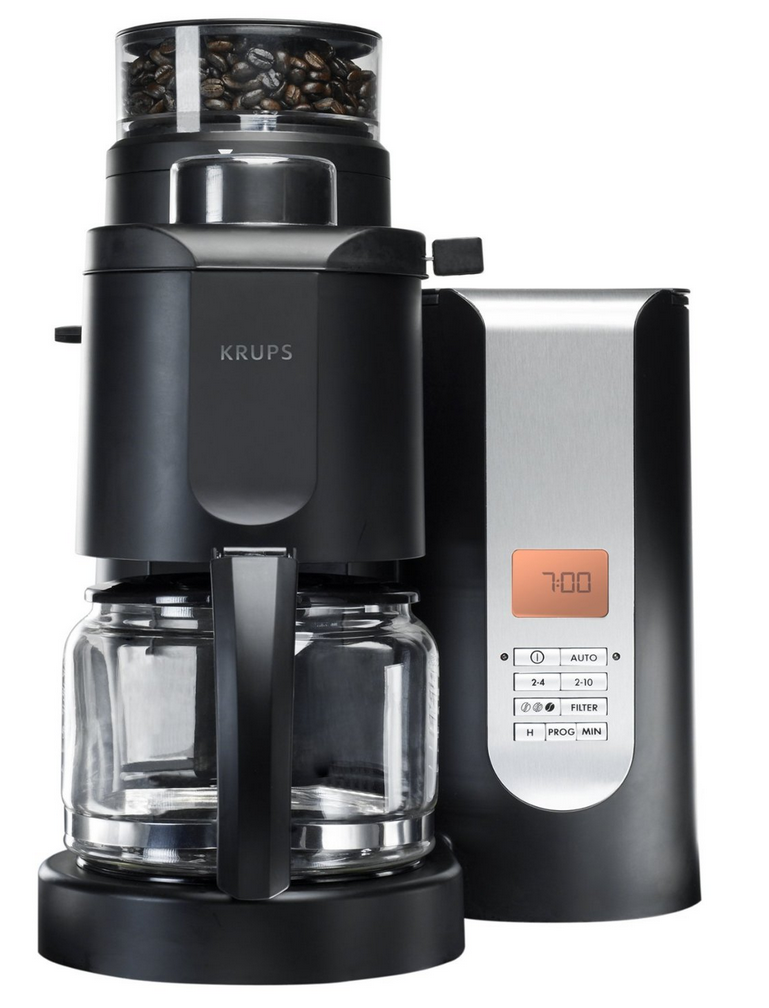 best grind and brew coffee maker with grinder 2015 krups