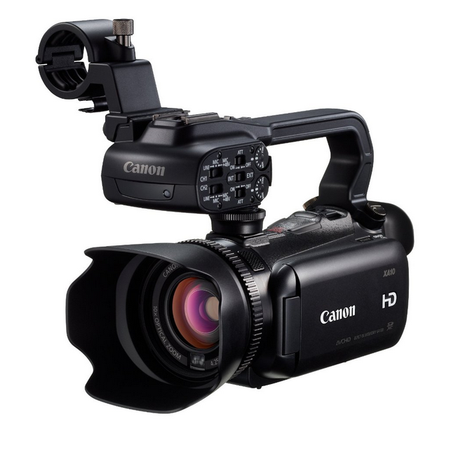best canon professional video cameras camcorders 2015 xa10