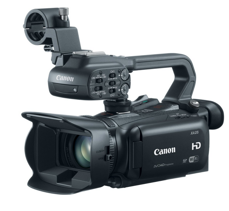 best canon professional video cameras camcorders 2015 xa25