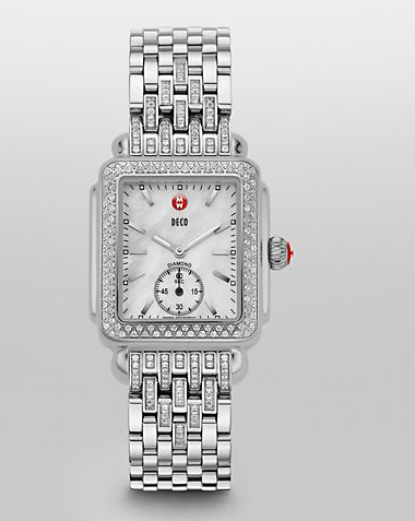 best michele watches for women 2015 taper diamond watch