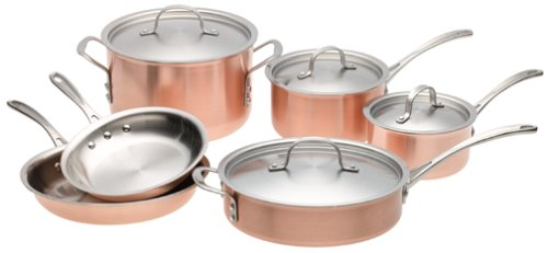 calphalon copper cookware