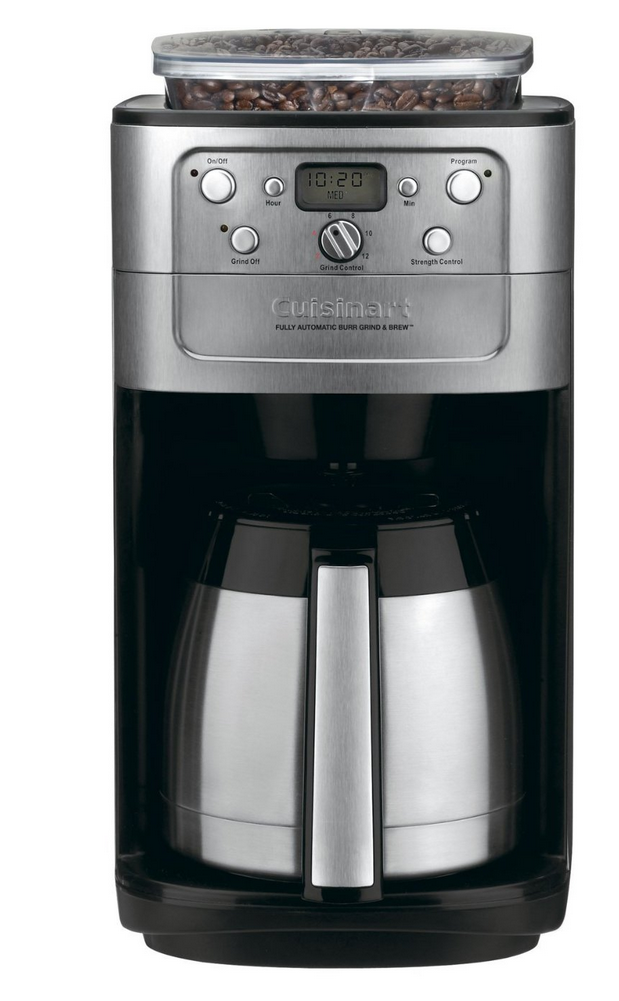 cusinart grind and brew coffee maker best cuisinart coffee makers