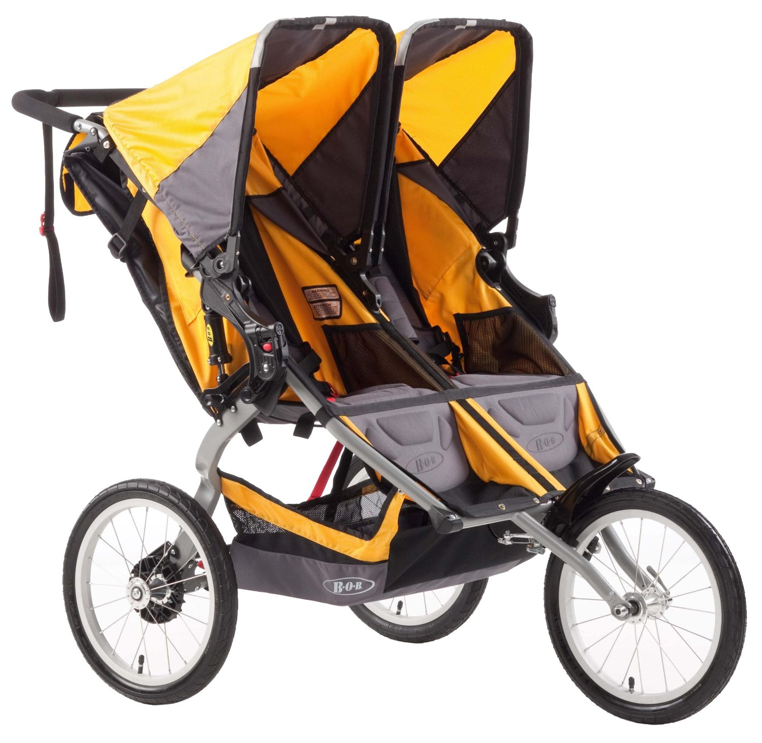 bob ironman duallie double jogging stroller